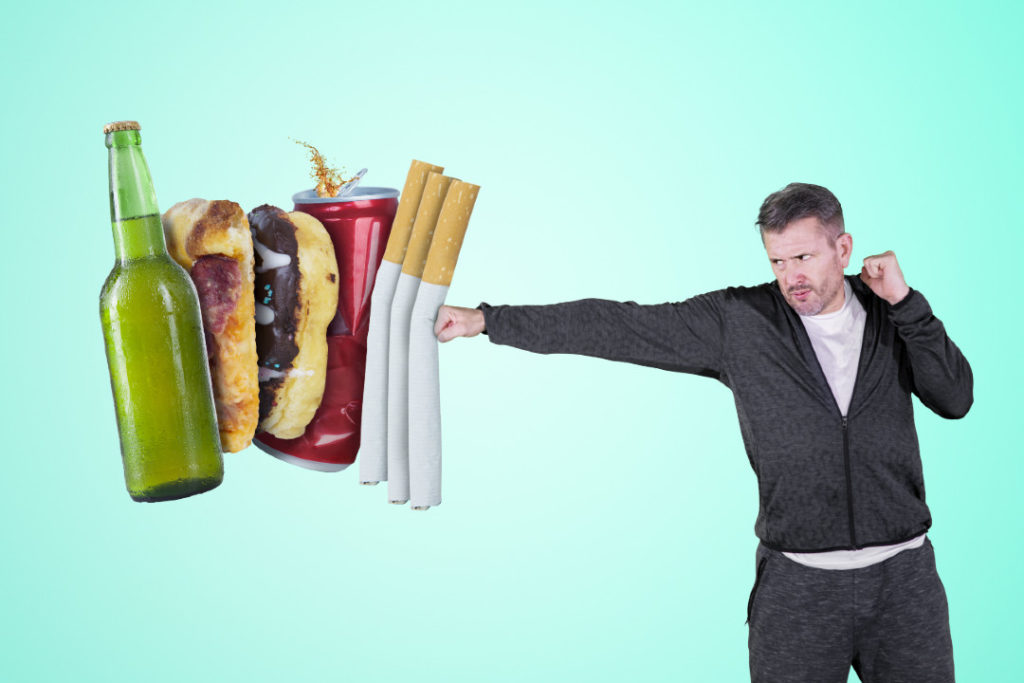 avoid overindulging in substances